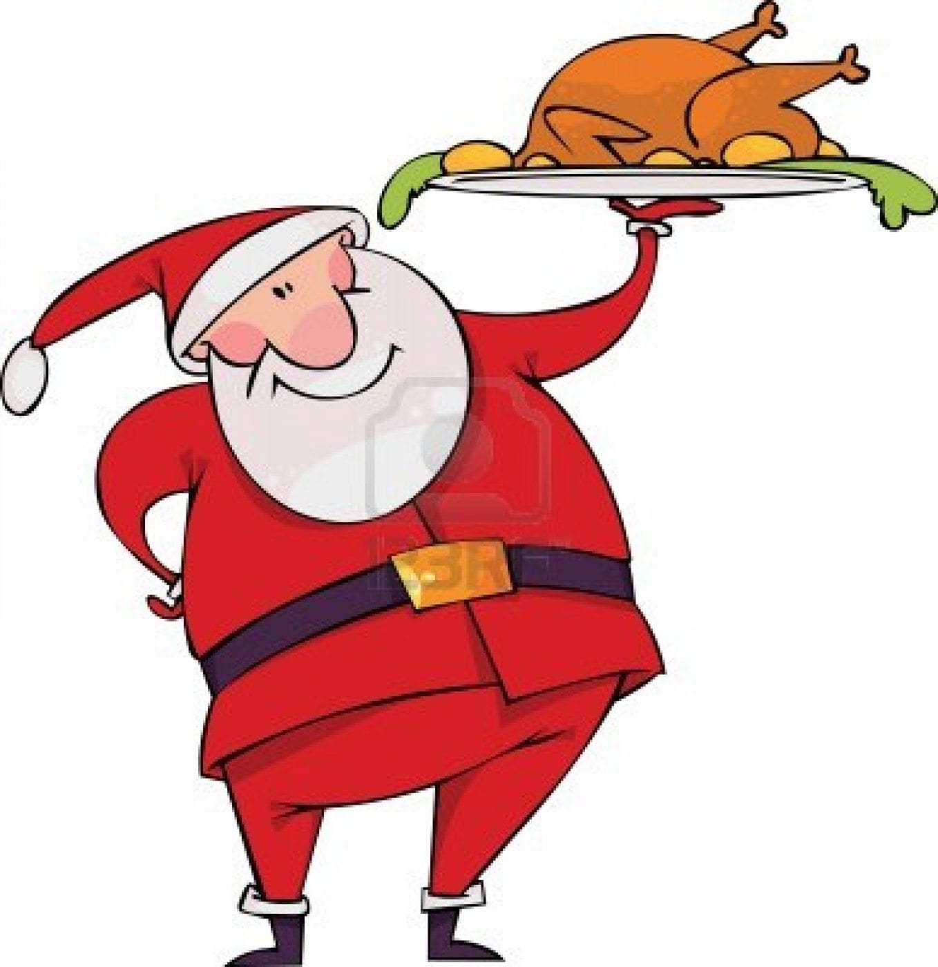clipart christmas dinner pictures - photo #9