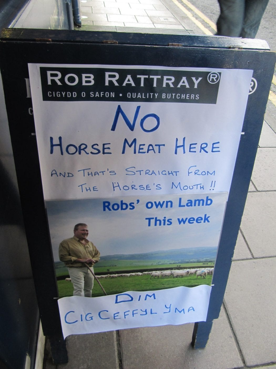 No Horse Meat Here