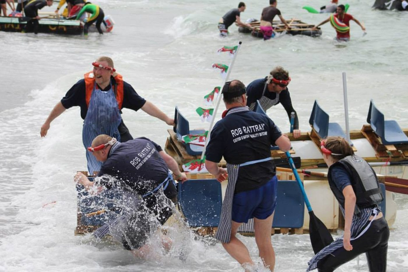 Glengower Raft Race