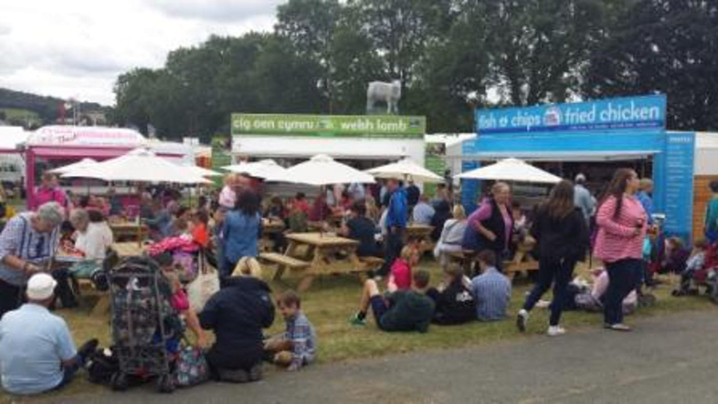 Know where your meat come from when you eat at the Royal Welsh Show