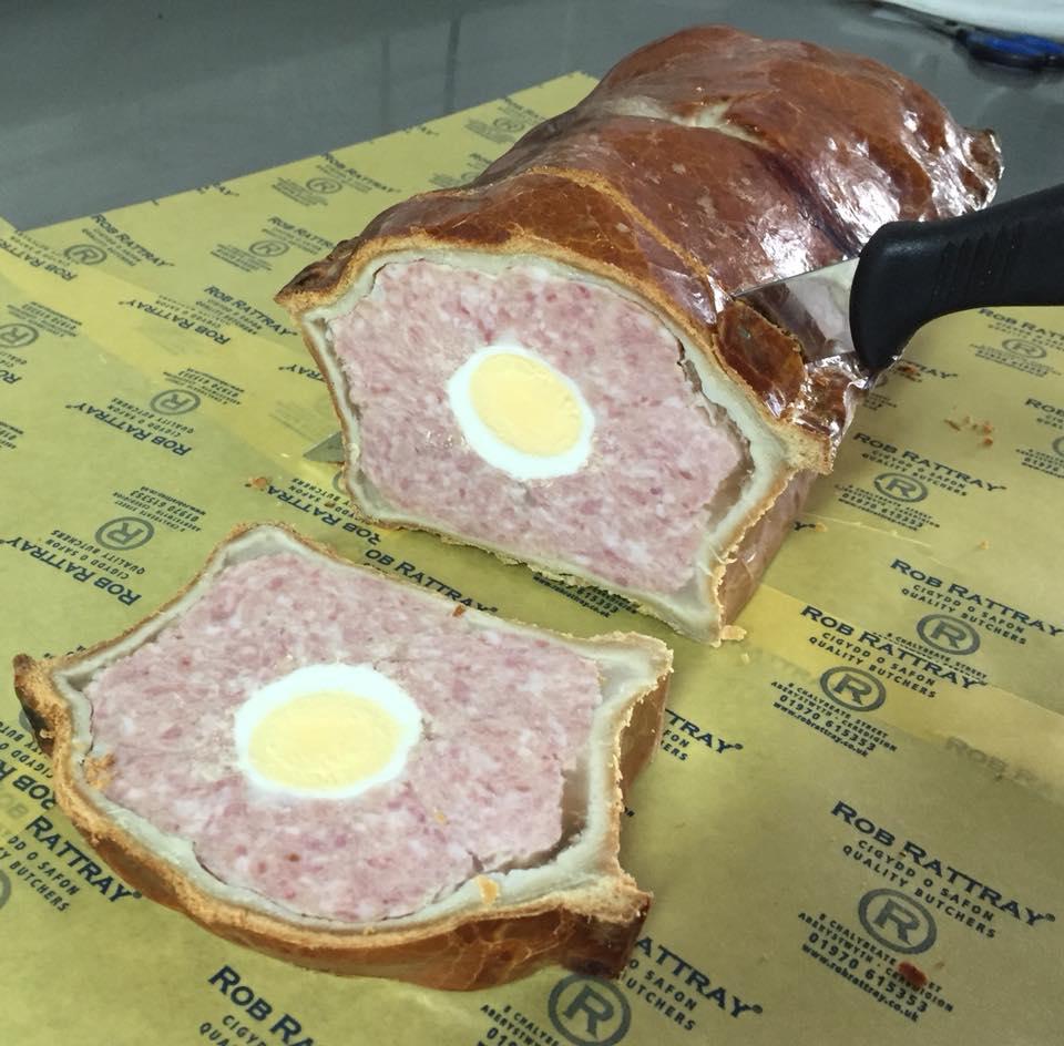 Ham & Egg Pie