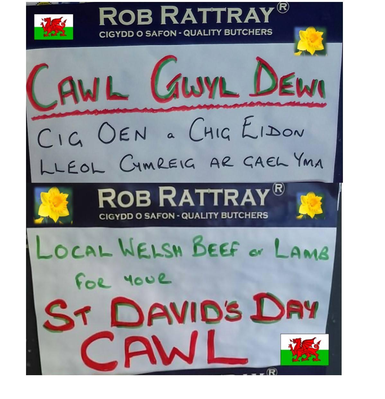 Dathlwch Gwyl Dewi