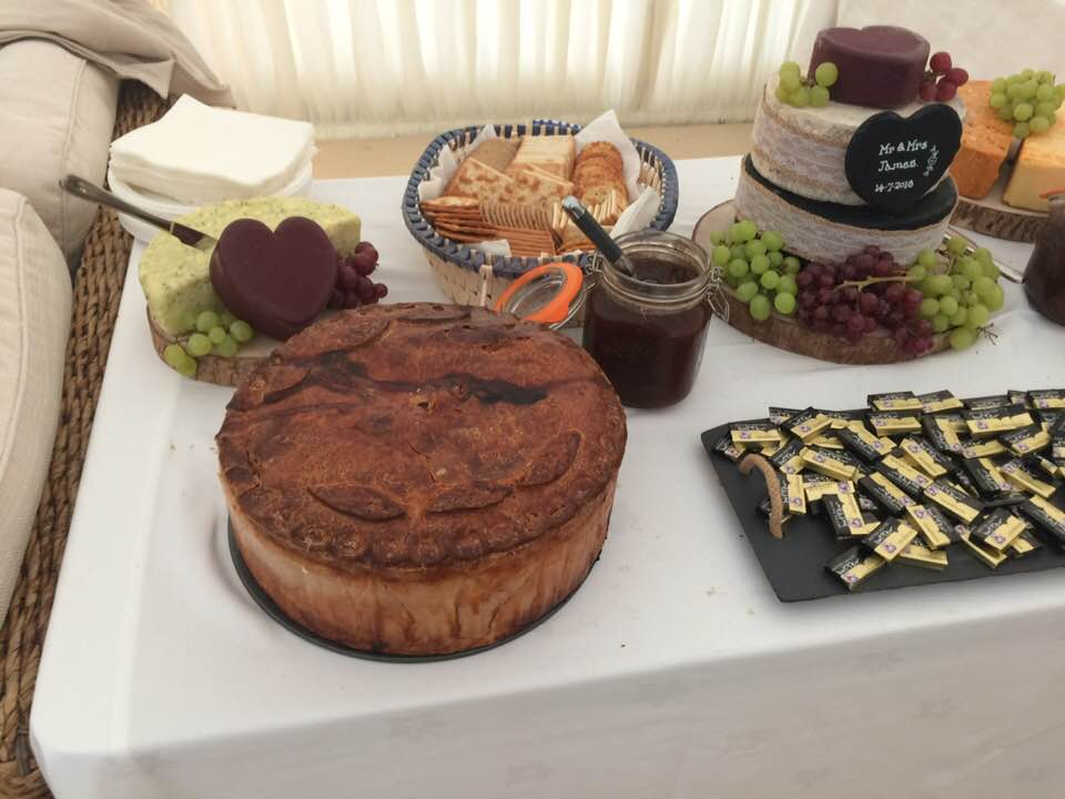 Wedding Fayre Pork Pie