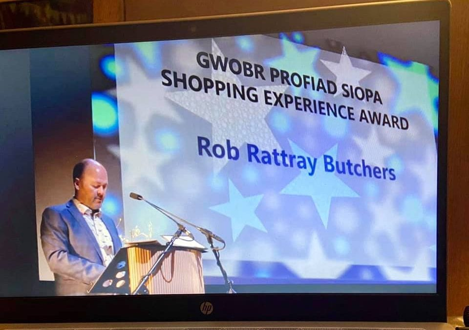 Menter Aberystwyth Shopping Experience Award 2020